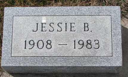 BREETZKE, JESSIE B. - Cuming County, Nebraska   JESSIE B. BREETZKE - Nebraska Gravestone Photos