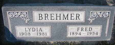 BREHMER, FRED - Cuming County, Nebraska   FRED BREHMER - Nebraska Gravestone Photos
