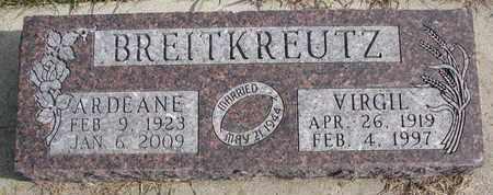 BREITKREUTZ, ARDEANE - Cuming County, Nebraska | ARDEANE BREITKREUTZ - Nebraska Gravestone Photos