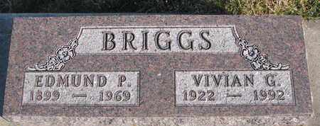 BRIGGS, VIVIAN G. - Cuming County, Nebraska | VIVIAN G. BRIGGS - Nebraska Gravestone Photos