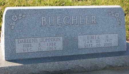 BUECHLER, DARLENE - Cuming County, Nebraska | DARLENE BUECHLER - Nebraska Gravestone Photos