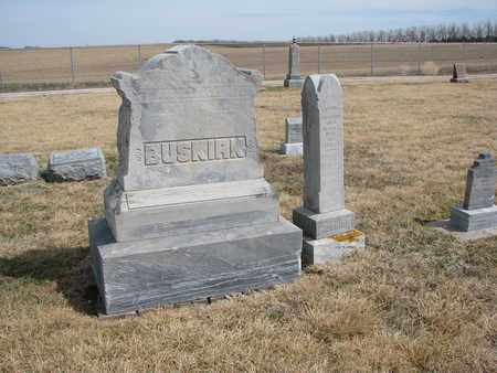 BUSKIRK, FAMILY PLOT - Cuming County, Nebraska   FAMILY PLOT BUSKIRK - Nebraska Gravestone Photos