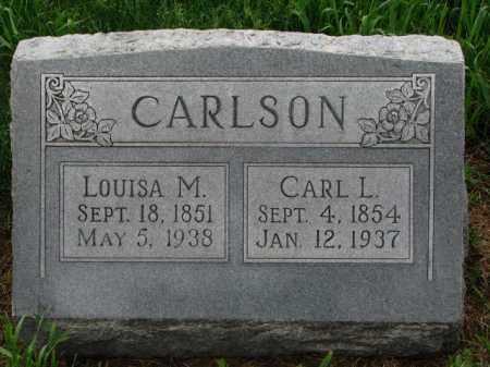 CARLSON, CARL L. - Cuming County, Nebraska   CARL L. CARLSON - Nebraska Gravestone Photos