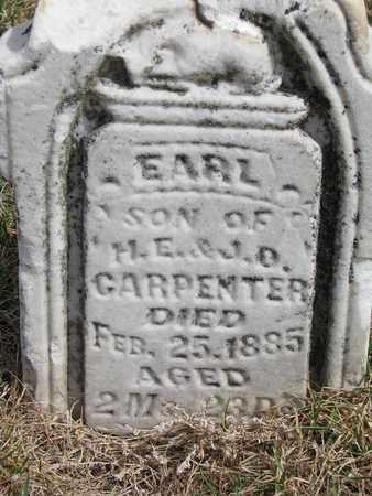 CARPENTER, EARL - Cuming County, Nebraska   EARL CARPENTER - Nebraska Gravestone Photos