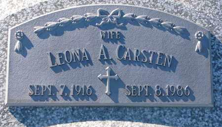 CARSTEN, LEONA A. - Cuming County, Nebraska | LEONA A. CARSTEN - Nebraska Gravestone Photos