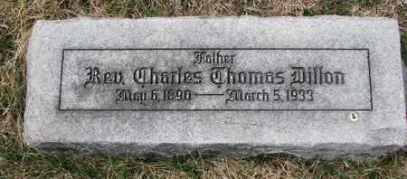 DILLON, CHARLES THOMAS (REV.) - Cuming County, Nebraska | CHARLES THOMAS (REV.) DILLON - Nebraska Gravestone Photos