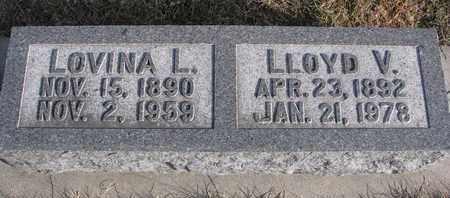 DOTY, LLOYD V. - Cuming County, Nebraska | LLOYD V. DOTY - Nebraska Gravestone Photos