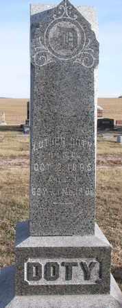 DOTY, LUTHER - Cuming County, Nebraska   LUTHER DOTY - Nebraska Gravestone Photos