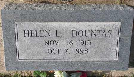 DOUNTAS, HELEN L. - Cuming County, Nebraska | HELEN L. DOUNTAS - Nebraska Gravestone Photos
