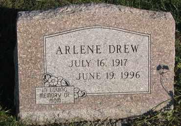 DREW, ARLENE - Cuming County, Nebraska   ARLENE DREW - Nebraska Gravestone Photos