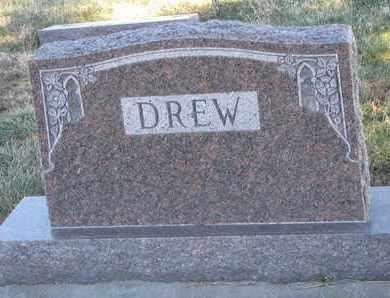 DREW, (FAMILY MONUMENT) - Cuming County, Nebraska | (FAMILY MONUMENT) DREW - Nebraska Gravestone Photos