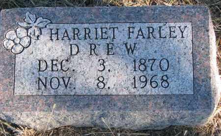 DREW, HARRIET - Cuming County, Nebraska | HARRIET DREW - Nebraska Gravestone Photos