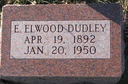 DUDLEY, E. ELWOOD - Cuming County, Nebraska   E. ELWOOD DUDLEY - Nebraska Gravestone Photos