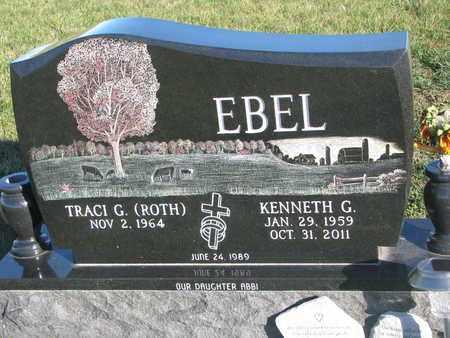 ROTH EBEL, TRACI G. - Cuming County, Nebraska | TRACI G. ROTH EBEL - Nebraska Gravestone Photos