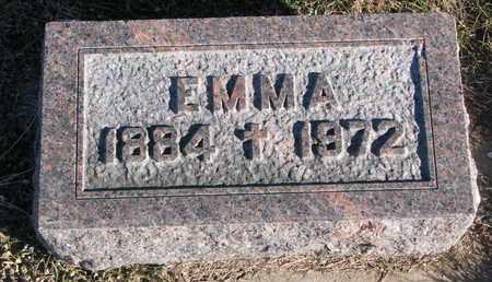 EMLEY, EMMA - Cuming County, Nebraska   EMMA EMLEY - Nebraska Gravestone Photos
