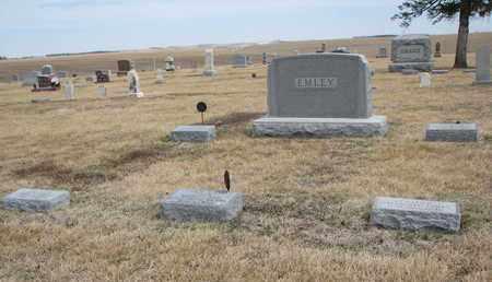EMLEY, (FAMILY PLOT) - Cuming County, Nebraska | (FAMILY PLOT) EMLEY - Nebraska Gravestone Photos