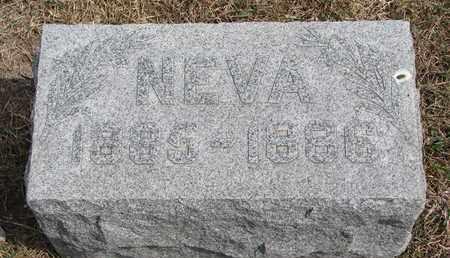 EMLEY, NEVA - Cuming County, Nebraska   NEVA EMLEY - Nebraska Gravestone Photos