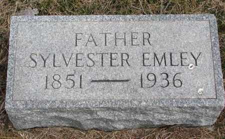 EMLEY, SYLVESTER - Cuming County, Nebraska   SYLVESTER EMLEY - Nebraska Gravestone Photos