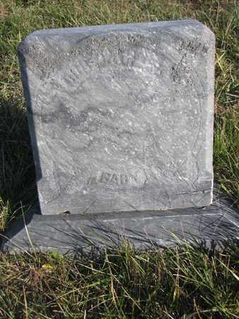 EVANS, BABY - Cuming County, Nebraska   BABY EVANS - Nebraska Gravestone Photos
