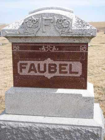 FAUBEL, (FAMILY MONUMENT) - Cuming County, Nebraska | (FAMILY MONUMENT) FAUBEL - Nebraska Gravestone Photos