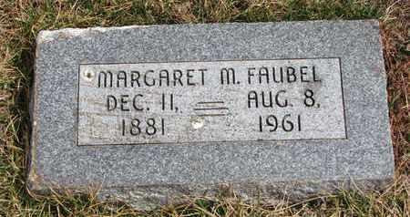 FAUBEL, MARGARET M. - Cuming County, Nebraska   MARGARET M. FAUBEL - Nebraska Gravestone Photos