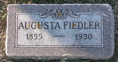 FIEDLER, AUGUSTA - Cuming County, Nebraska | AUGUSTA FIEDLER - Nebraska Gravestone Photos