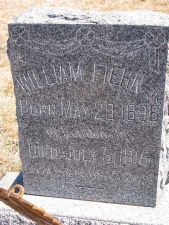 FIEHN, WILLIAM JR. - Cuming County, Nebraska | WILLIAM JR. FIEHN - Nebraska Gravestone Photos