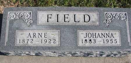 FIELD, JOHANNA - Cuming County, Nebraska | JOHANNA FIELD - Nebraska Gravestone Photos