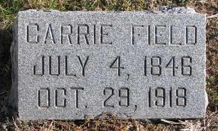 FIELD, CARRIE - Cuming County, Nebraska | CARRIE FIELD - Nebraska Gravestone Photos