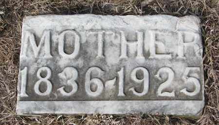FRCEK, MOTHER - Cuming County, Nebraska | MOTHER FRCEK - Nebraska Gravestone Photos