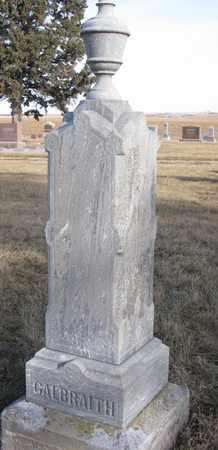 GALBRAITH, MALINDA - Cuming County, Nebraska   MALINDA GALBRAITH - Nebraska Gravestone Photos