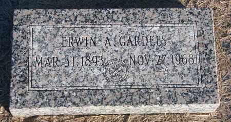 GARDELS, ERWIN A. - Cuming County, Nebraska | ERWIN A. GARDELS - Nebraska Gravestone Photos