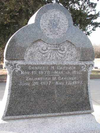 GARDNER, ZACHARIAH M. - Cuming County, Nebraska | ZACHARIAH M. GARDNER - Nebraska Gravestone Photos