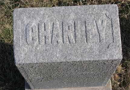 GARDNER, CHARLEY (FOOTSTONE) - Cuming County, Nebraska   CHARLEY (FOOTSTONE) GARDNER - Nebraska Gravestone Photos