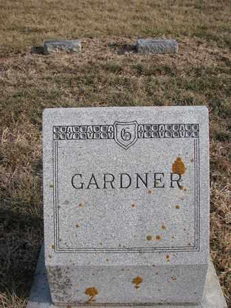 GARDNER, (FAMILY MONUMENT) - Cuming County, Nebraska   (FAMILY MONUMENT) GARDNER - Nebraska Gravestone Photos