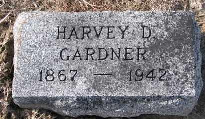 GARDNER, HARVEY D. - Cuming County, Nebraska | HARVEY D. GARDNER - Nebraska Gravestone Photos