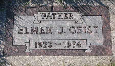 GEIST, ELMER J. - Cuming County, Nebraska   ELMER J. GEIST - Nebraska Gravestone Photos