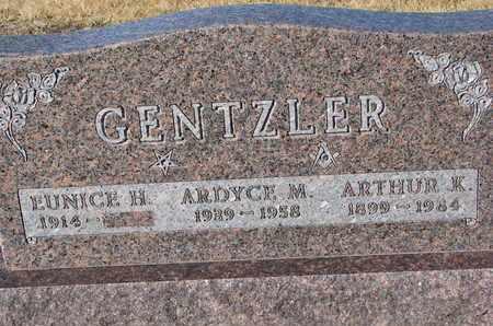 GENTZLER, ARDYCE M. - Cuming County, Nebraska | ARDYCE M. GENTZLER - Nebraska Gravestone Photos