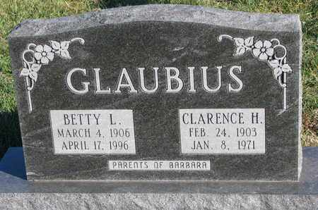 GLAUBIUS, CLARENCE H. - Cuming County, Nebraska   CLARENCE H. GLAUBIUS - Nebraska Gravestone Photos