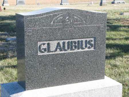 GLAUBIUS, (FAMILY MONUMENT) - Cuming County, Nebraska   (FAMILY MONUMENT) GLAUBIUS - Nebraska Gravestone Photos