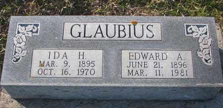 GLAUBIUS, EDWARD A. - Cuming County, Nebraska   EDWARD A. GLAUBIUS - Nebraska Gravestone Photos