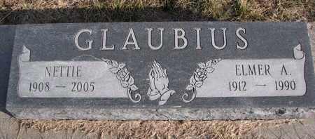GLAUBIUS, ELMER A. - Cuming County, Nebraska   ELMER A. GLAUBIUS - Nebraska Gravestone Photos