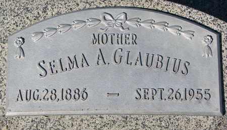GLAUBIUS, SELMA A. - Cuming County, Nebraska   SELMA A. GLAUBIUS - Nebraska Gravestone Photos