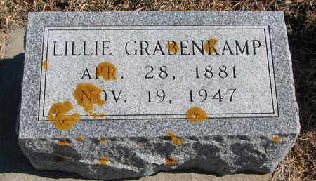 GRABENKAMP, LILLIE - Cuming County, Nebraska | LILLIE GRABENKAMP - Nebraska Gravestone Photos