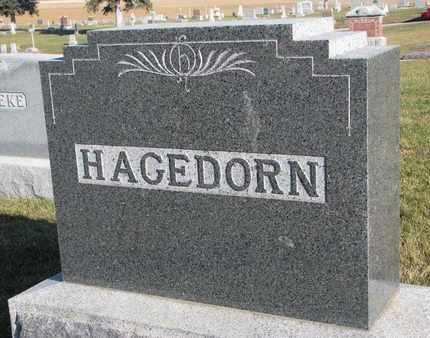 HAGEDORN, (FAMILY MONUMENT) - Cuming County, Nebraska   (FAMILY MONUMENT) HAGEDORN - Nebraska Gravestone Photos