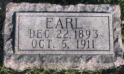HAHLBECK, EARL - Cuming County, Nebraska | EARL HAHLBECK - Nebraska Gravestone Photos