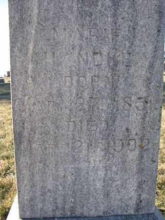 HANDKE, MARIE (CLOSEUP) - Cuming County, Nebraska   MARIE (CLOSEUP) HANDKE - Nebraska Gravestone Photos