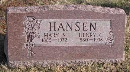 HANSEN, MARY S. - Cuming County, Nebraska | MARY S. HANSEN - Nebraska Gravestone Photos