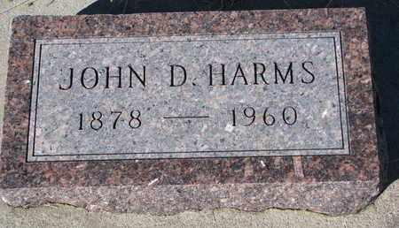 HARMS, JOHN D. - Cuming County, Nebraska   JOHN D. HARMS - Nebraska Gravestone Photos