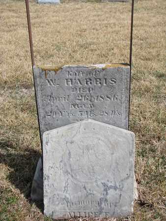 HARRIS, ALLICE - Cuming County, Nebraska | ALLICE HARRIS - Nebraska Gravestone Photos